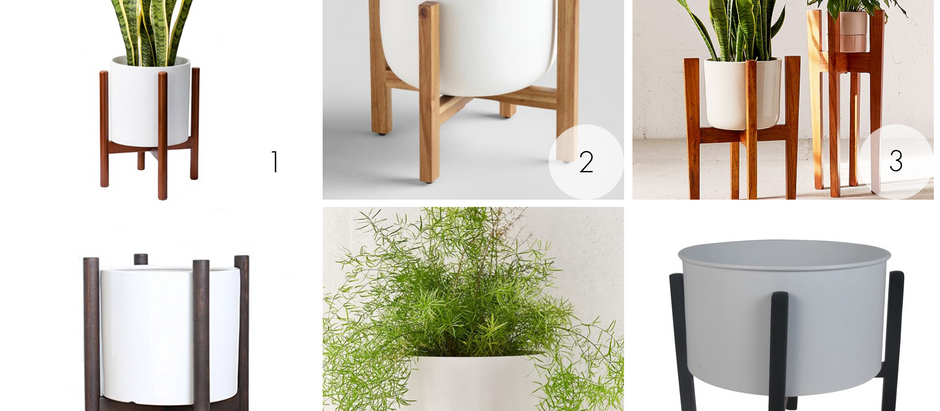 Affordable Alternatives to the Modernica Case Study Planter