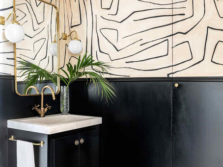 Bathroom Wallpaper Inspiration and Sources to Replicate the Look Yourself