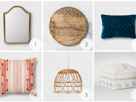 Sneak Peek of Target's New Opalhouse Home Decor Line