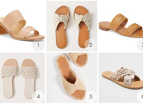 Neutral Summer Sandals