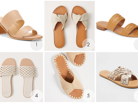 Neutral Summer Sandals