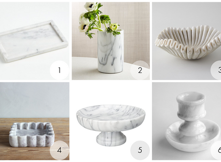 Marble Kitchen Accessories
