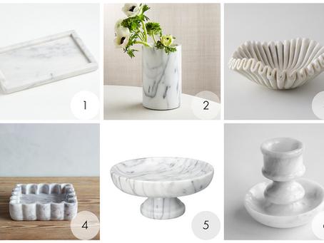 Marble Kitchen Accessories