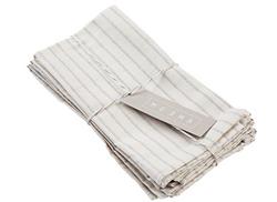 striped linen napkins