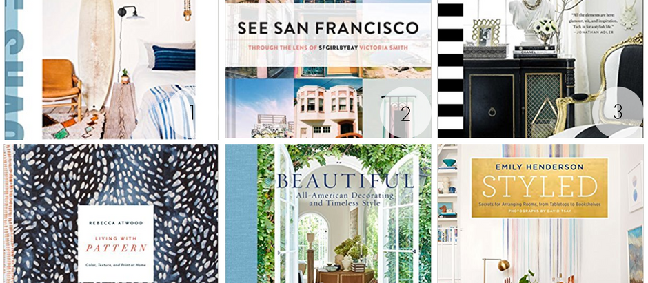 Pretty and Practical Coffee Table Books for Your Home