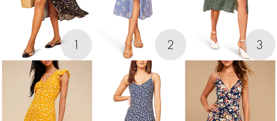 Spring and Summer Wedding Guest Dresses