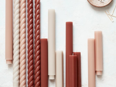 Trending: Textured Taper Candles