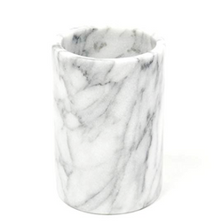 marble utensil holder