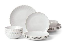 scalloped plates