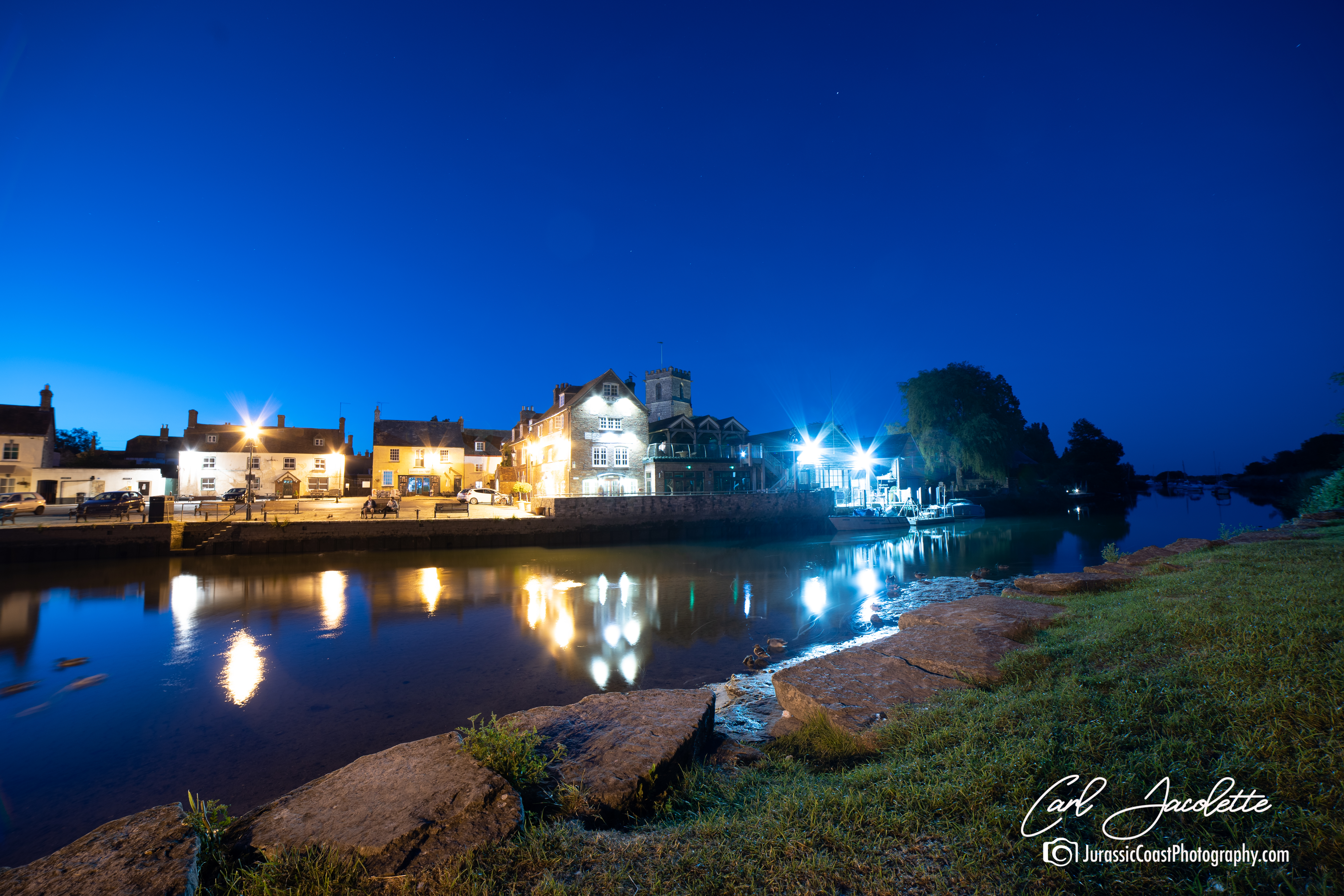 Wareham Quay Blue Hour