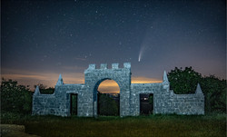 Comet Neowise over Creech Folly-2