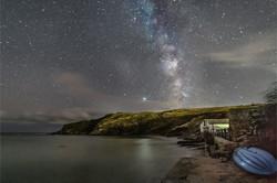 Milky Way at Lulworth Cove-2