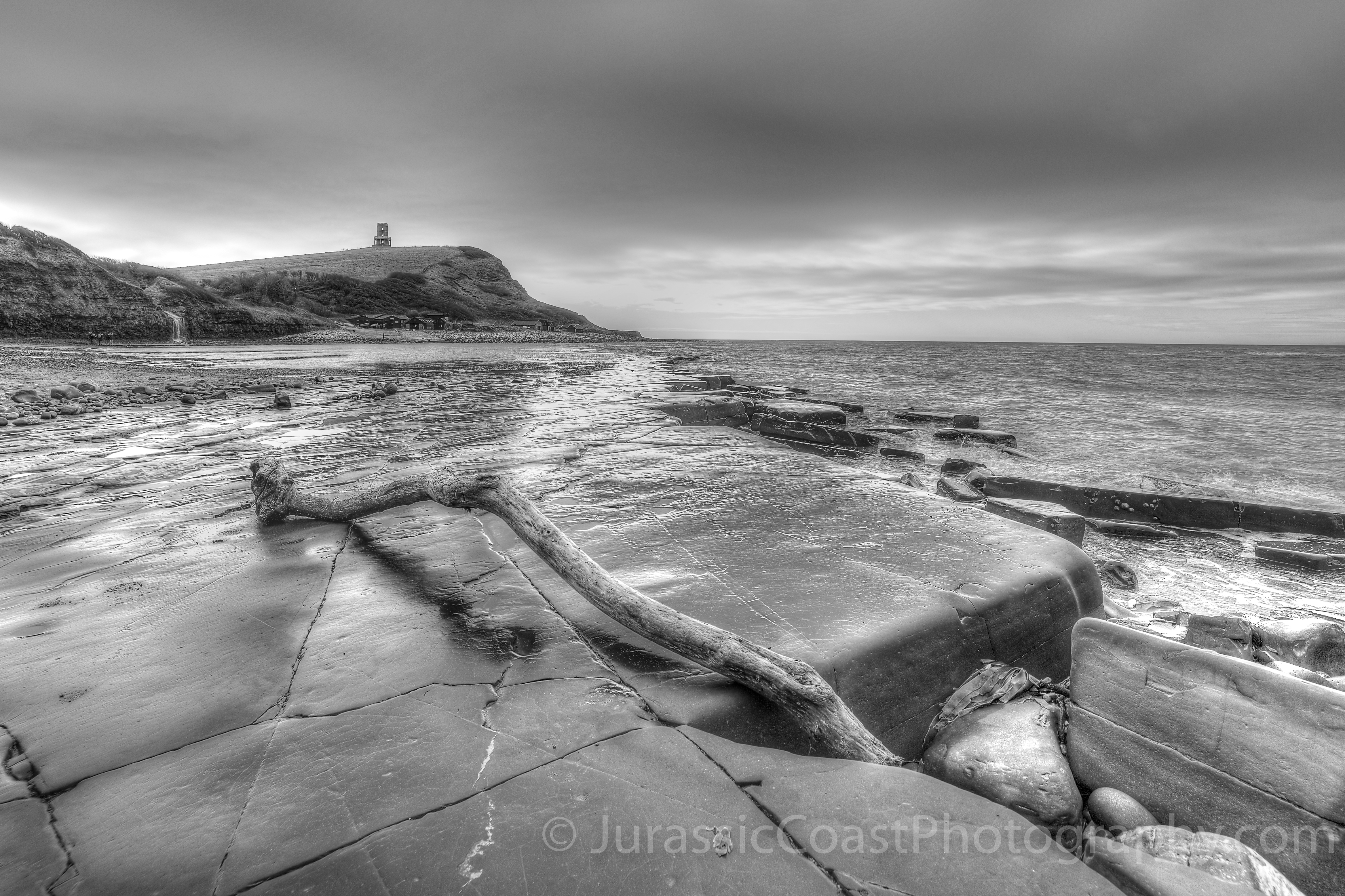 Kimmeridge in Black and White