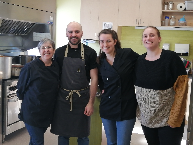 Équipe du Bistro Boulay Valentin, Julie et Maureen