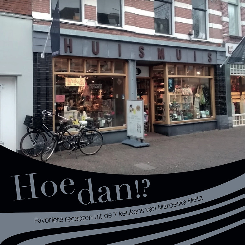 Kookdemonstratie uit Hoe dan ?! Bij kookwinkel De HUISMUIS Alkmaar