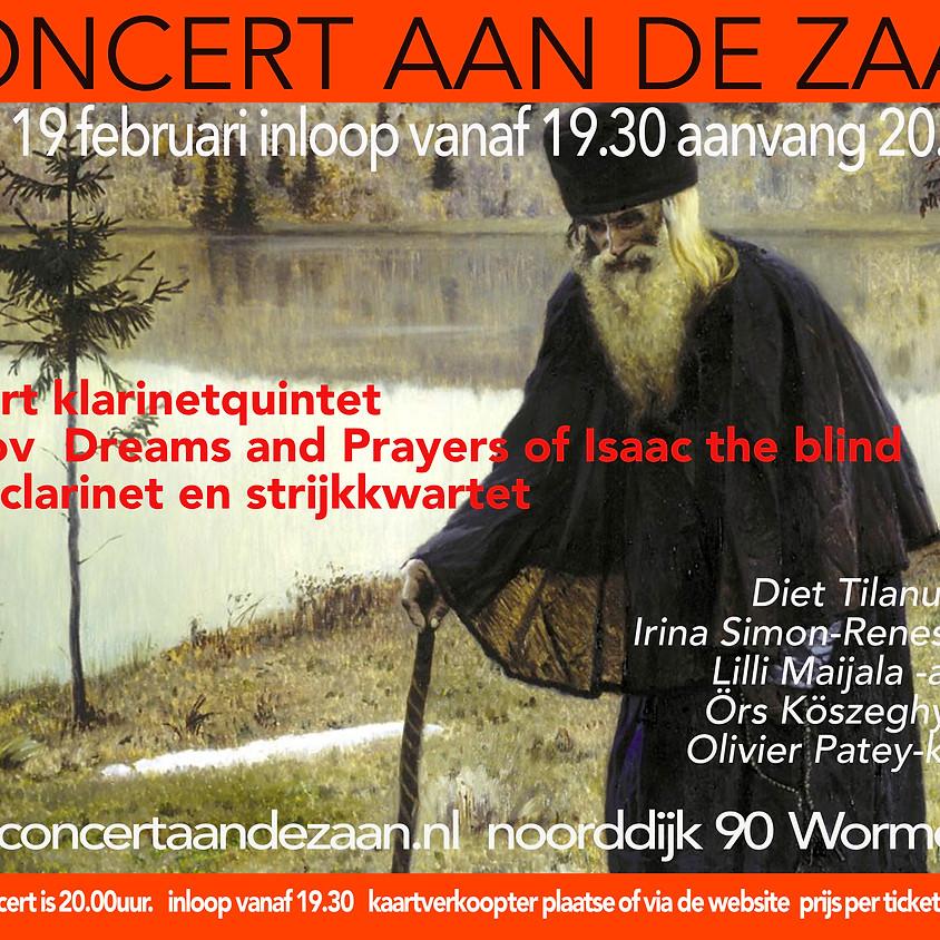 Concert aan de Zaan 19 februari 2021 gaat niet door