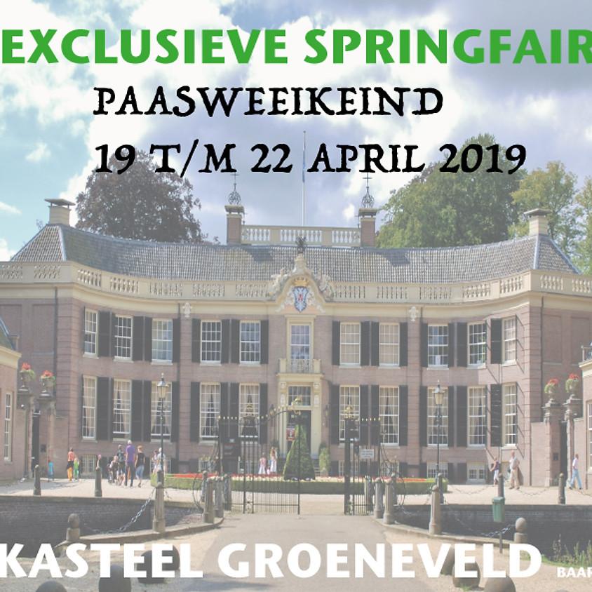 SPRING fair kasteel Groeneveld