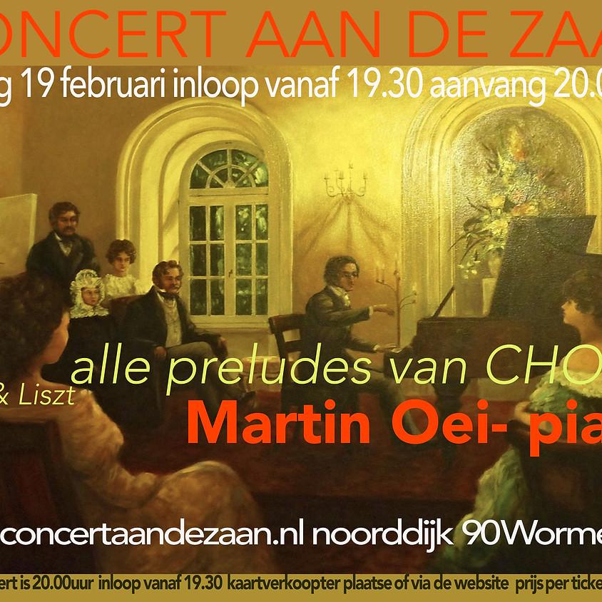 Concert aan de Zaan 19 februari 2021