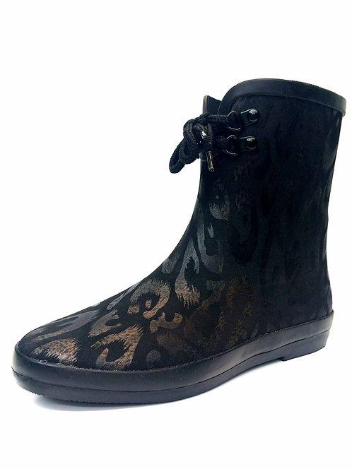 Bronze tone Rain Boot