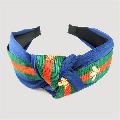 Blue Red and Green Headband