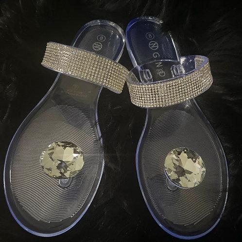 Diamond inspired sandal