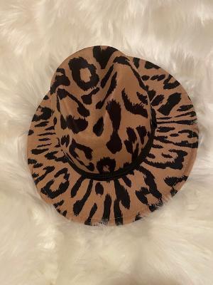 Leopard Print Fedora