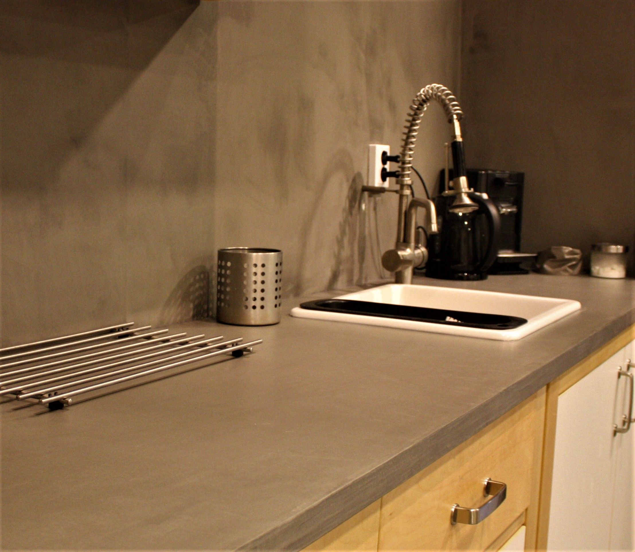 Arttex wall & kitchen top