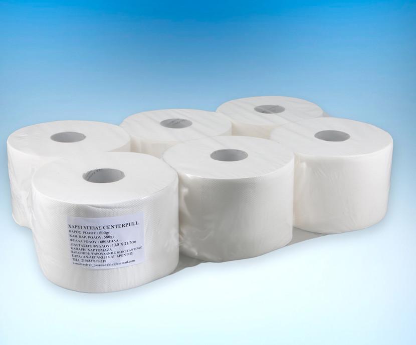 Center pull device toilet paper (inner-smart) 600gr