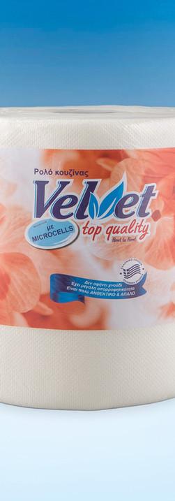 Velvet top quality Paper towel 500gr