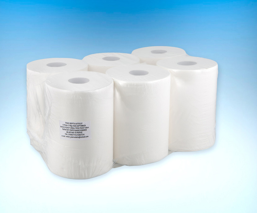 Hand towel roll for autocut device 700gr