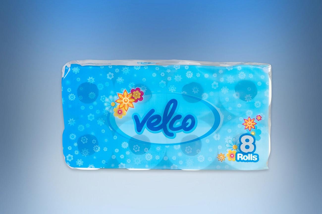 Ρολο υγείας 1 κιλo Velvet λειο compact
