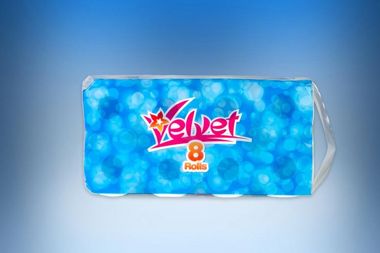 Velvet 2-ply toilet paper roll 1kg