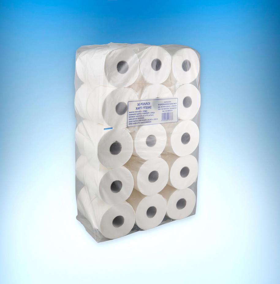 Velvet super 2-ply toilet paper roll 200gr