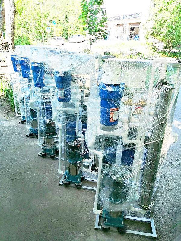 Готовые установки обратного осмоса производства фирмы Vending Water
