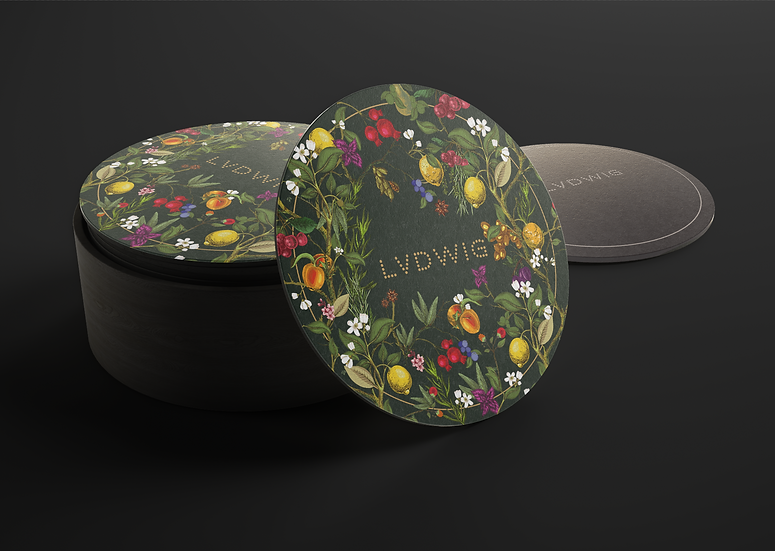 LVDWIG Botanic Beauty Coaster SET OF 6