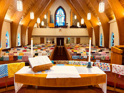 Pillowcase Altar 2018