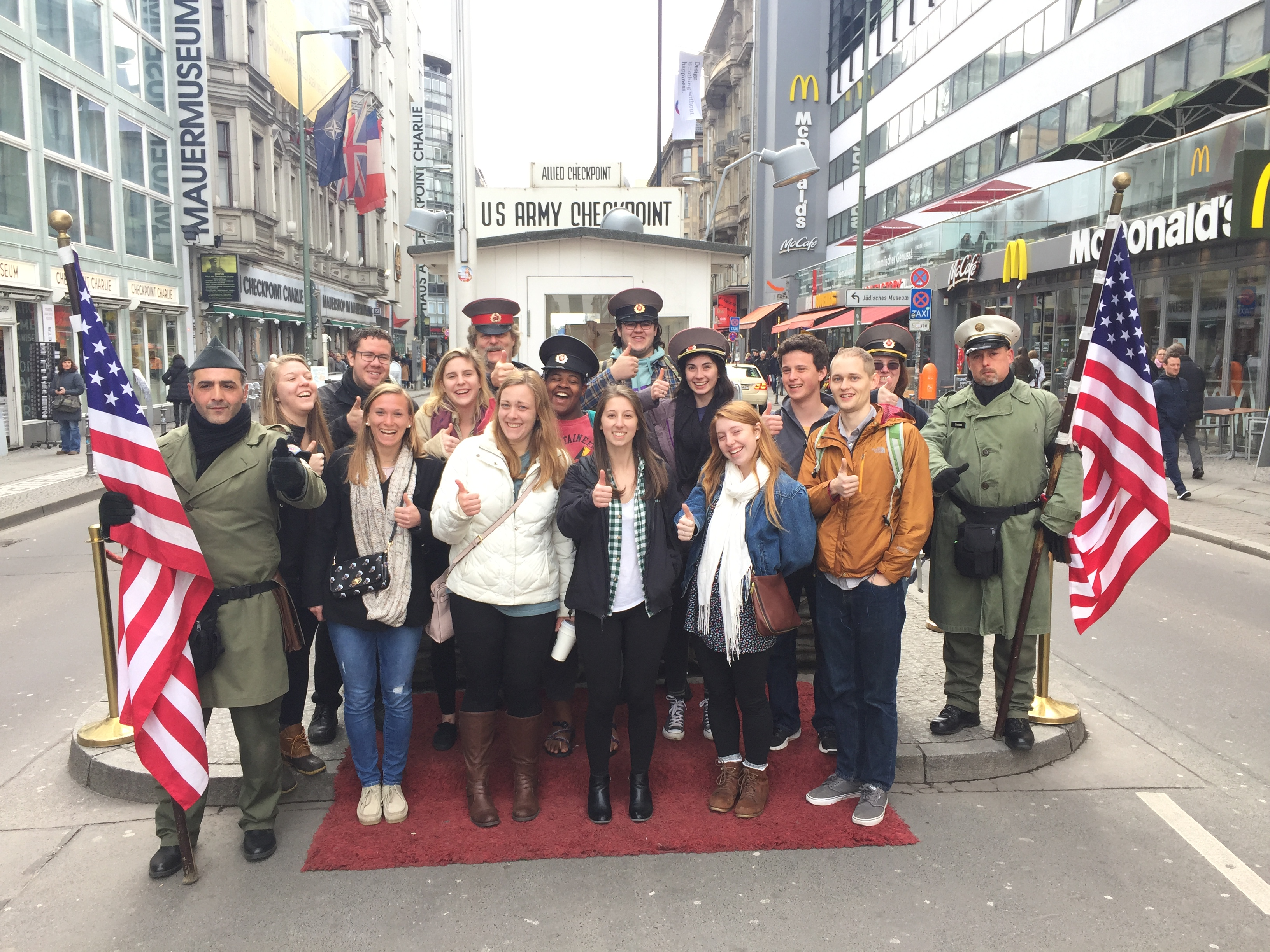 Berlin Checkpoint Charlie LSA Picture