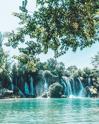 kravice waterfall bosnia
