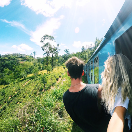 THE MOST BEAUTIFUL TRAIN RIDE IN THE WHOLE WORLD