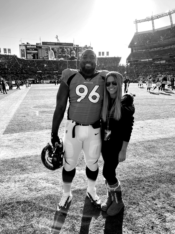 Denver Broncos' Shelby Harris