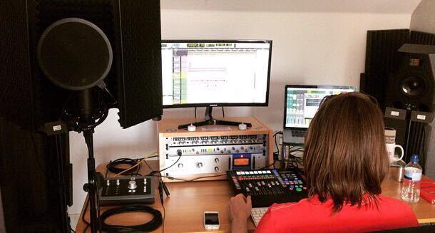 Amy Brill - Vocal Tracking Session
