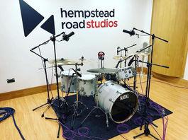 Hempstead Road Studios - Drum Setup
