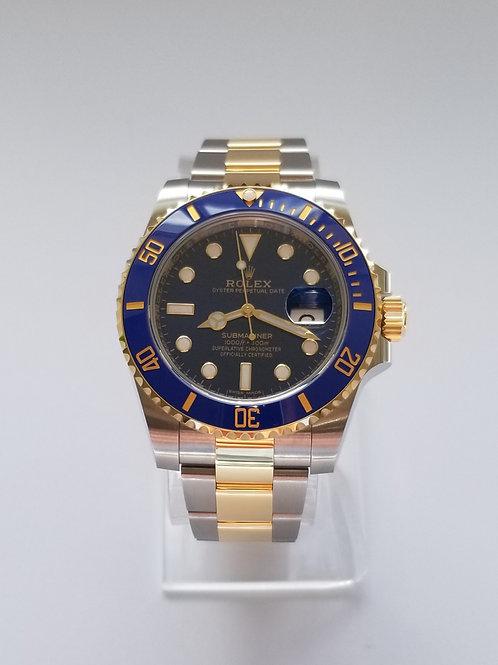2020 Rolex Submariner Blue Dial