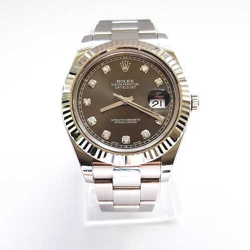 2017 Rolex Datejust II Diamond Dial