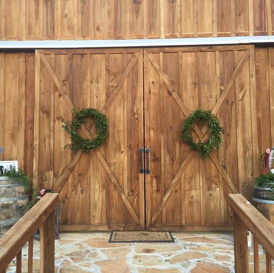Cedar Ridge Barn Doors