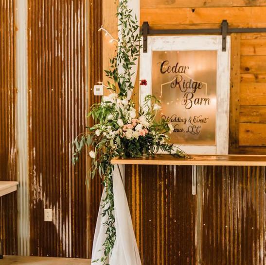 Cedar Ridge Barn Door