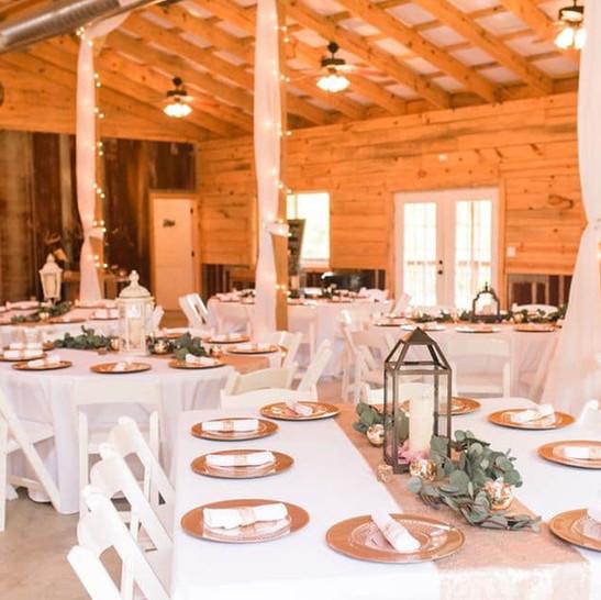 Cedar Ridge Barn Tables