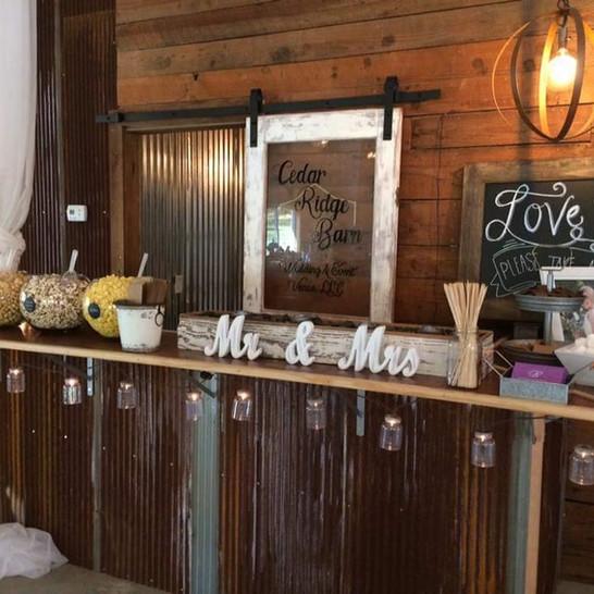 Cedar Ridge Barn Bar Top