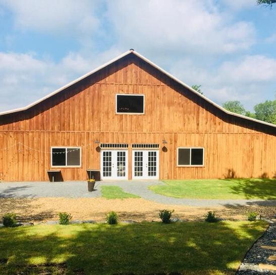 Cedar Ridge Barn Back View