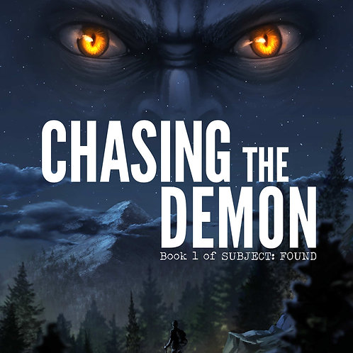 Chasing the Demon Paperback -- Personalized Autograph